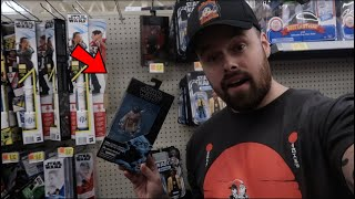 TOY HUNTING WALMART AND TOY DEPARTMENT FOR STAR WARS BLACK SERIES MANDALORIAN! CLEARANCE FIND!