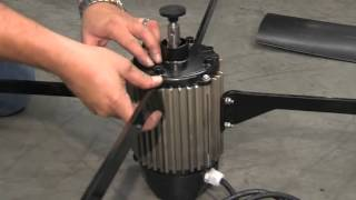 motor replacement for portacool 36 inch variable speed - Portacool