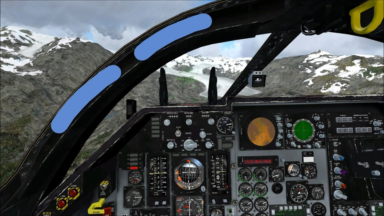 FSX Virtavia F-111 ORBX Rockies - YouTube