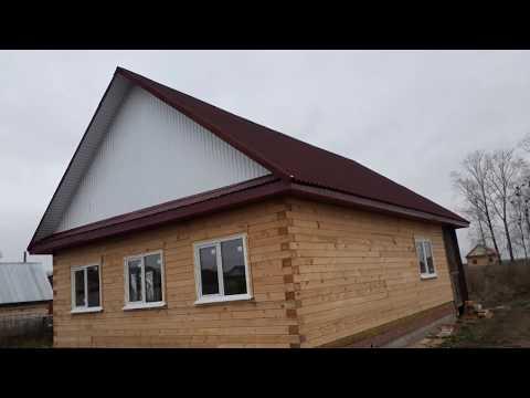 Обзор Дома 8х10 из профилированного бруса