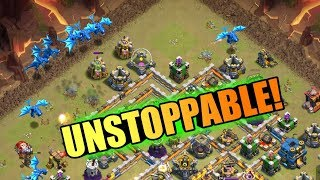 ELECTRO DRAGON IS UNSTOPPABLE IN CLASH OF CLANS