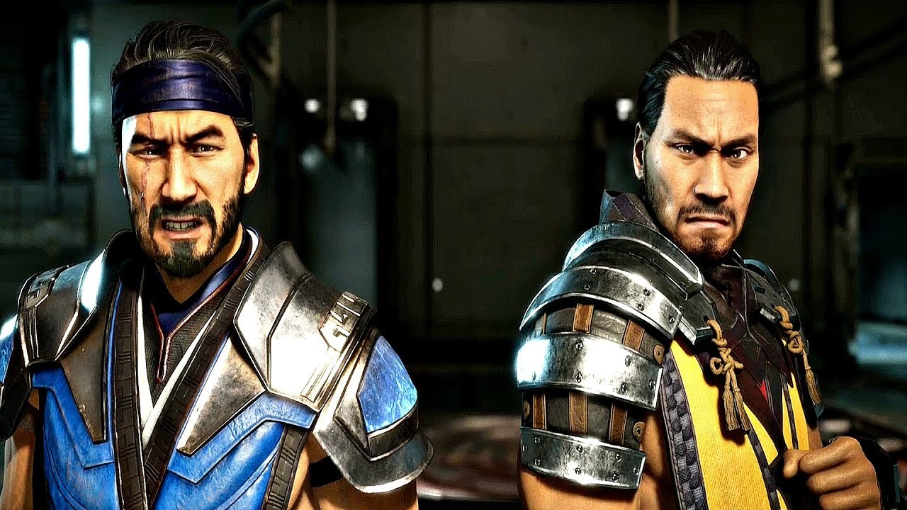 Mortal Kombat 11 Scorpion Sub Zero Vs Sektor Cyrax Mk11 Story Mode Youtube