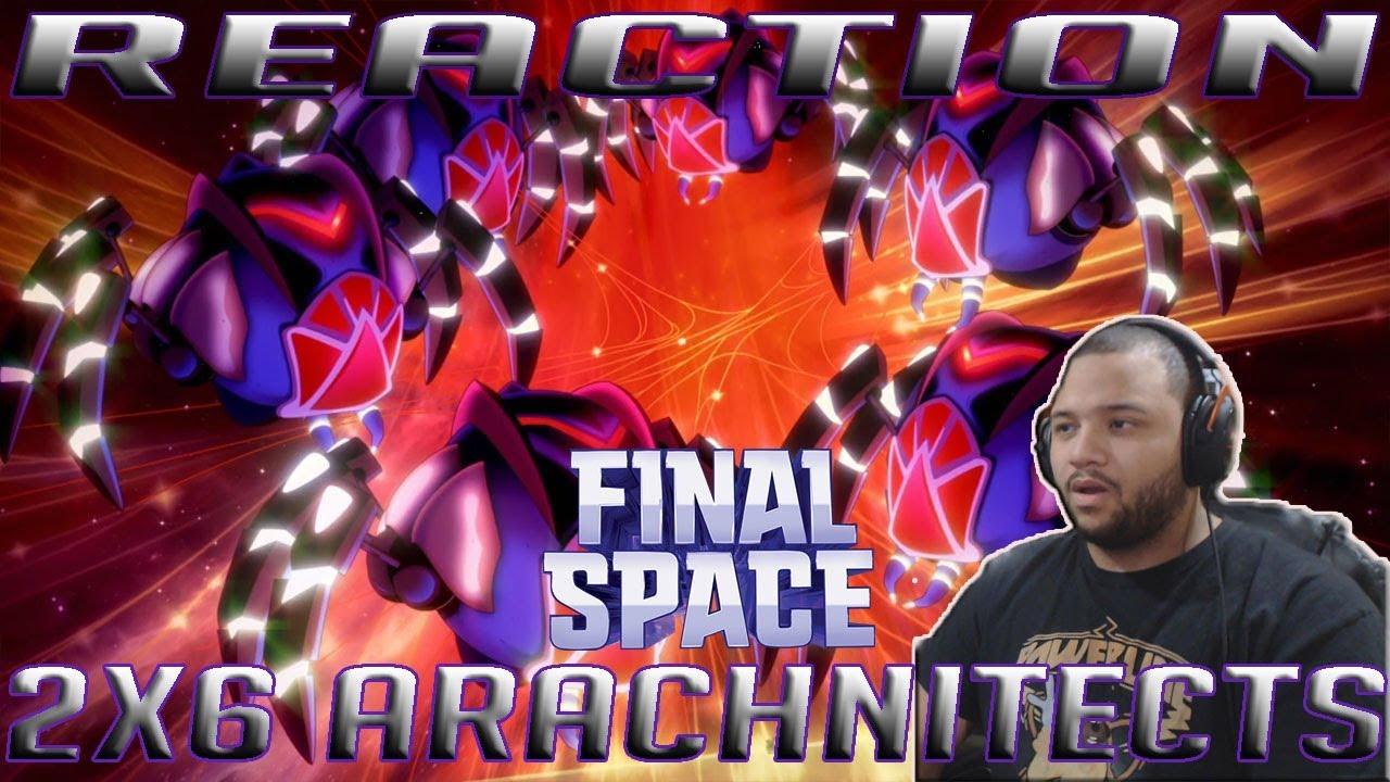 Download Final Space Season 2 Episode 6 | Arachnitects | REACTION!!