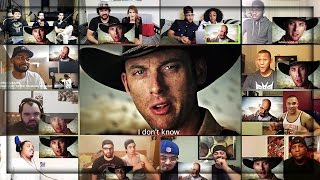 Repeat youtube video RICK GRIMES vs. WALTER WHITE (The Epic Rap Battles of History) Reactions Mashup