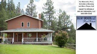 229 Warm Springs Rd., Clancy, MT Presented by DANETTE SPRINKLE.