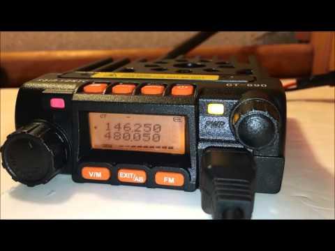 Sainsonic GT-890 Baofeng dual band review