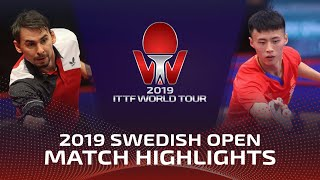 Кирилл Скачков vs Xu Haidong | Swedish Open 2019 (Pre)