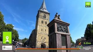 Twentse Es route naar de binnenstad van Enschede