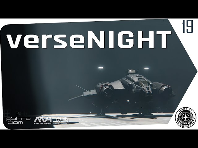 verseNIGHT 🚀 StarCitizen Talk und Musik mit AstroSam & Mitch van Hayden (German/Deutsch 14.07.2020)