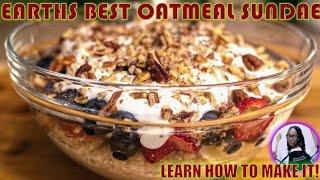 Simple and healthy Oatmeal with Greek Yogurt