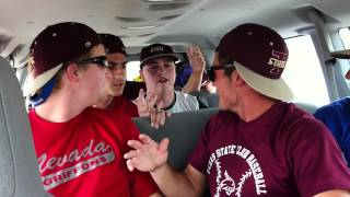 Texas State Call Me Maybe Harvard Baseball Parody/Bagel Dance