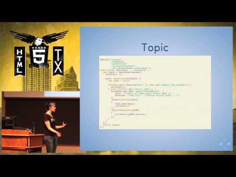 HTML 5.tx 2013 - Backbone: 3 Ways By Pamela Fox