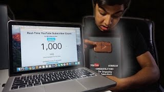1000 SUBSCRIBERS! (REACTION & BRONZE PLAY BUTTON)