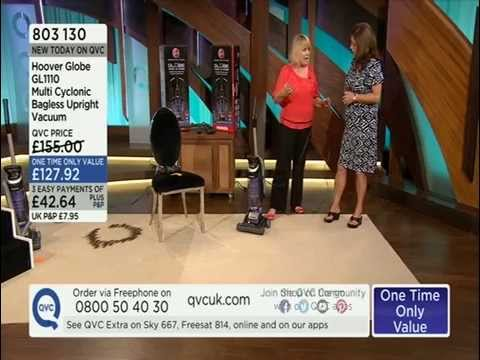Hoover Globe GL1110 Upright Vacuum Cleaner Demonstration QVC