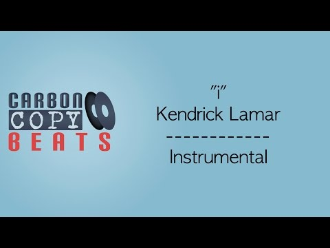 i - Instrumental / Karaoke (In the Style of Kendrick Lamar)