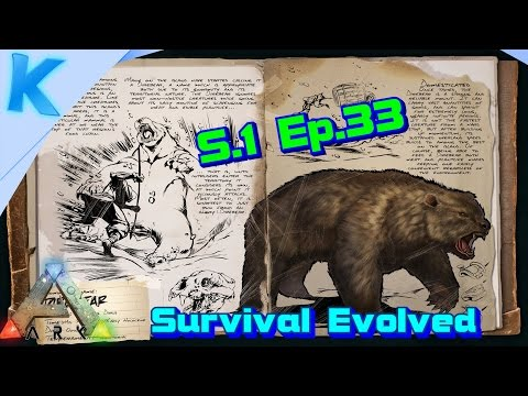 NL-Ark: Survival Evolved - S.1 Ep.33 - SUPER BEER! Fiber farming! (Gameplay)