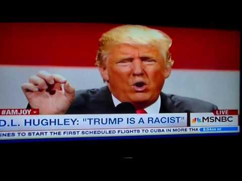 D L Hughley eviserates Donald Trump