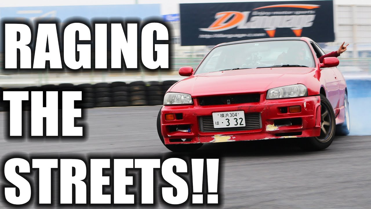 DRIVING R34 ON THE STREETS OF TOKYO!