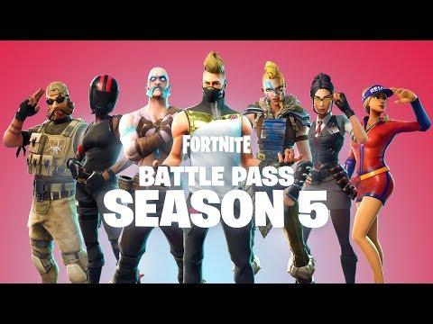 BATTLE PASS SEASON 5   AVAILABLE NOW