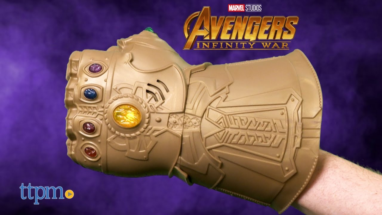 marvel avengers infinity war infinity gauntlet electronic fist from
