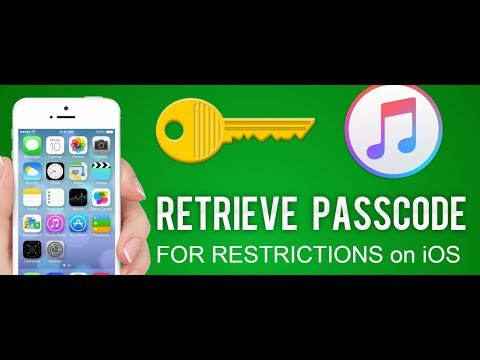 How to restore iphone 4 to factory settings without restrictions passcode