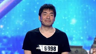 Keiichi Iwasaki | Auditions | Bulgaria's Got Talent 2021
