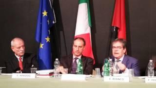 Intervento Presidente Enzo Bianco - Meeting di Primavera