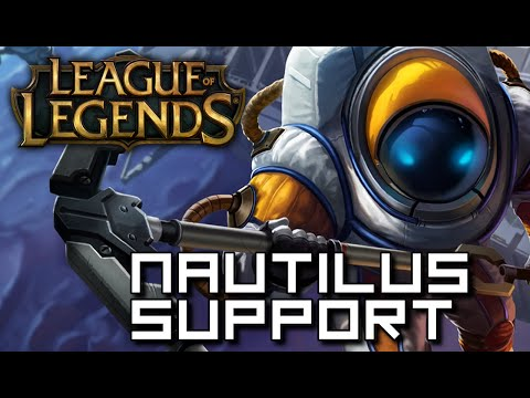 LEAGUE OF LEGENDS [Deu] - NAUTILUS [Support] ☕ Lets Play League of Legends | Doky