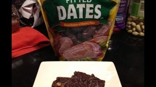 Top 50 Healthiest Foods - Dates & Date Nut Candy Bars