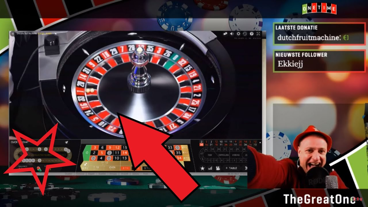 LIVE DOUBLE BALL ROULETTE JACKPOT WIN!!!! - YouTube