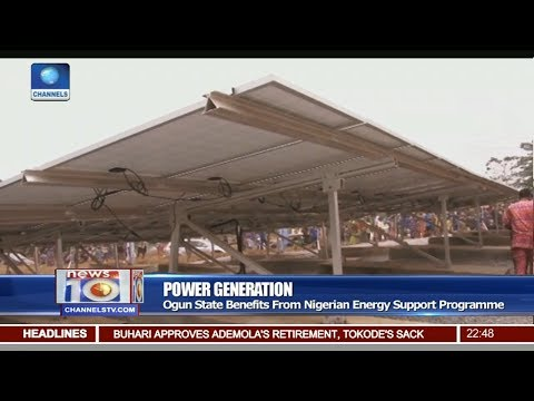 Ogun State Benefits From Nigerian Energy Support Programme Pt.3 |News@10| 09/02/18