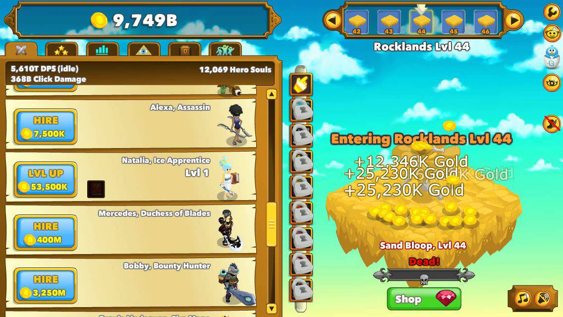 Idle build optimal gild hopping :: Clicker Heroes General ...
