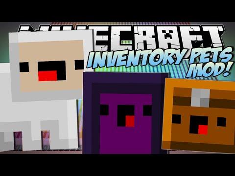 Minecraft   INVENTORY PETS MOD!! (Summon Lightning, EXPLODE & More!)   Mod Showcase