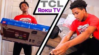 "32"" TCL Roku TV Unboxing & Impressions!"