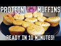 Low Carb Protein Muffins | Easy Low Calorie Recipe