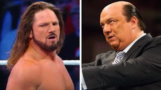 AJ Can't Stand To Look At Paul Heyman, Wrestler Says WWE Is A Broken System