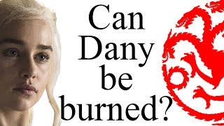 """""""Fire cannot kill a dragon"""": can Dany be burned?"""