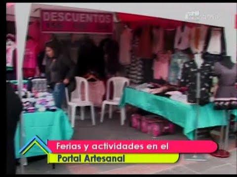 Ferias de actividades en el Portal Artesanal