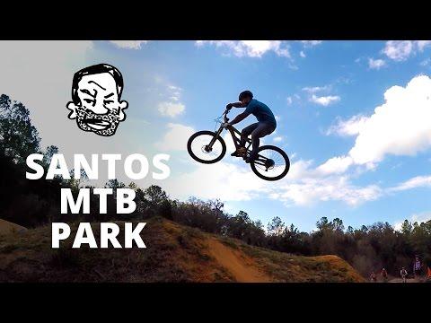 Riding Santos MTB Park with Phil Kmetz