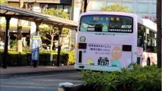 警視庁ちびまる子ちゃんラッピングバス 京浜急行バス大森営業所Ver