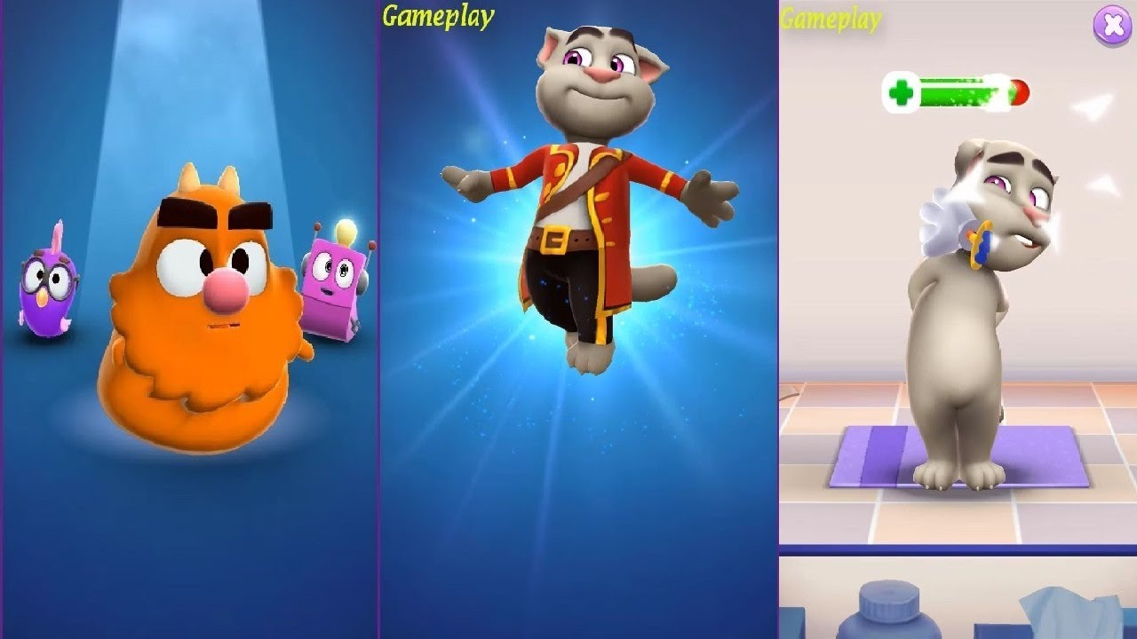 My Talking Tom 2 NEW GAME Gameplay Day 8 - 1st …