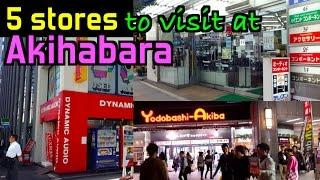 FIVE must-visit Stops for Hifi in Akihabara, Tokyo!