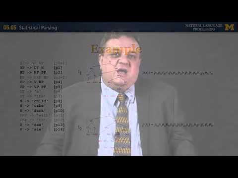Statistical Parsing - Natural Language Processing | University of Michigan