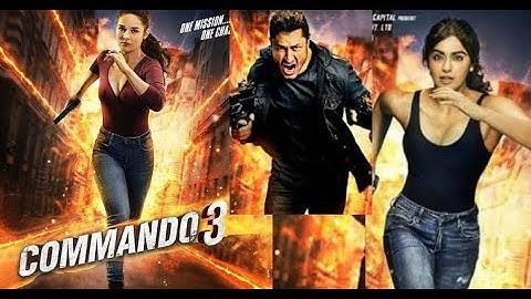 Commando 3 (2019) Full Movie Fact and Review in hindi / Vidyut Jamwal/ Adah Sharma / Baapji Review