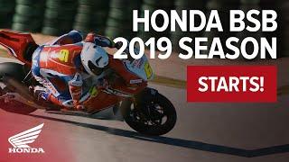 Honda Racing BSB 2019 Season Begins!