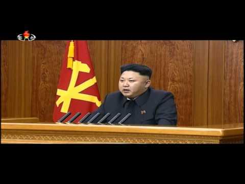 Kim Jong Un's new year address 2015