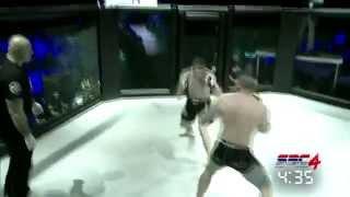 Serb vs Albanian - UFC MMA - (Serb beat Albanian then saves his Life)