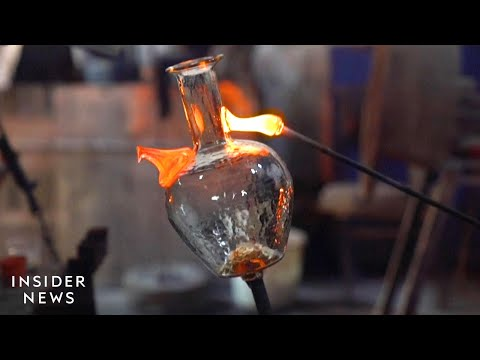 How Glass Waste From The Beirut Explosion Is Recycled Into Water Jugs