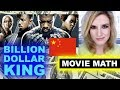 Black Panther Billion Worldwide, China - BOX OFFICE