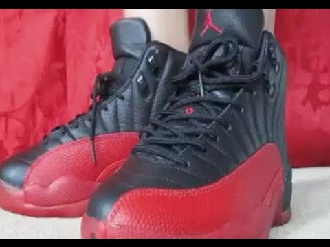 9ac4cc1b44c 1996 Nike Air Jordan OG Flu Game Bred 12 Sneaker Review Plus Buju ...